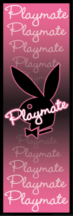 Poster Playboy - playmate neon