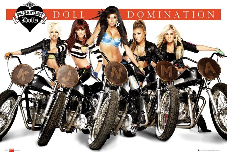 Poster Pussycat Dolls - doll domination