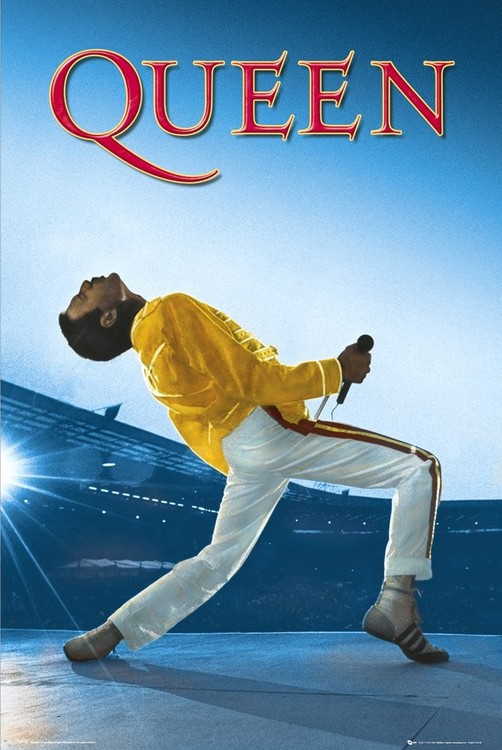 Poster Queen - Live At Wembleyy