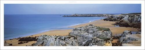 Quiberon - Plage de port-Bara Kunstdruck