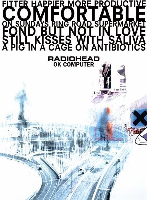 Poster Radiohead of Computer
