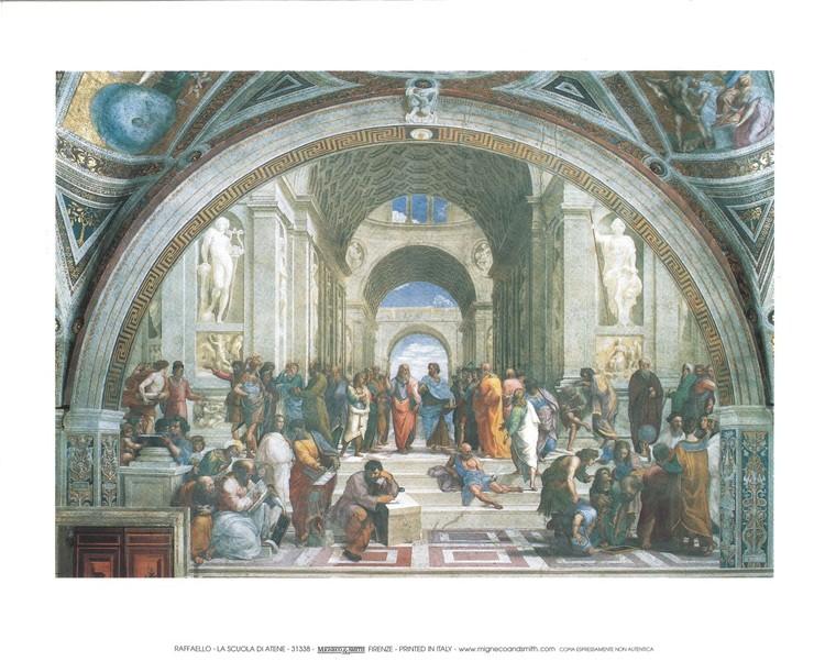 Poster Raphael Sanzio - The School of Athens, 1509