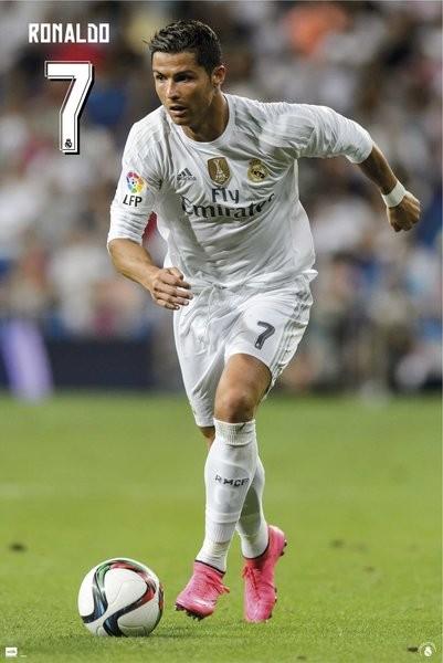 Poster Real Madrid CF - Ronaldo 15/16