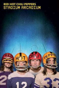 Poster Red hot chili peppers Astronaughts