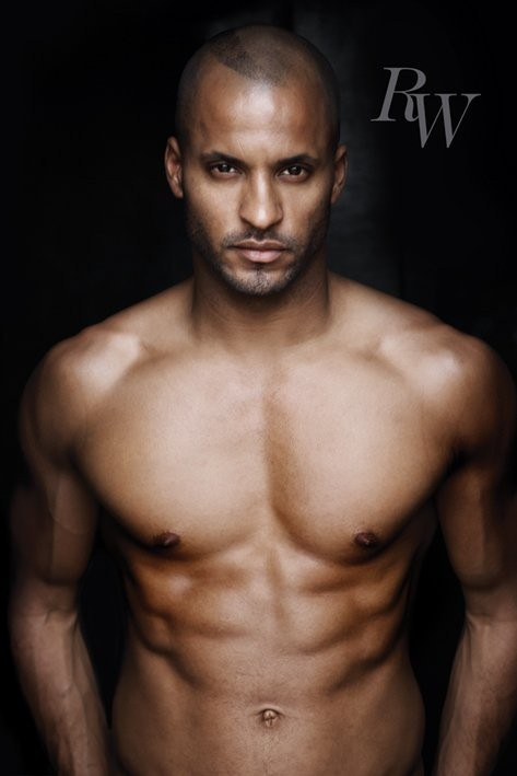 Ricky Whittle - chest Poster