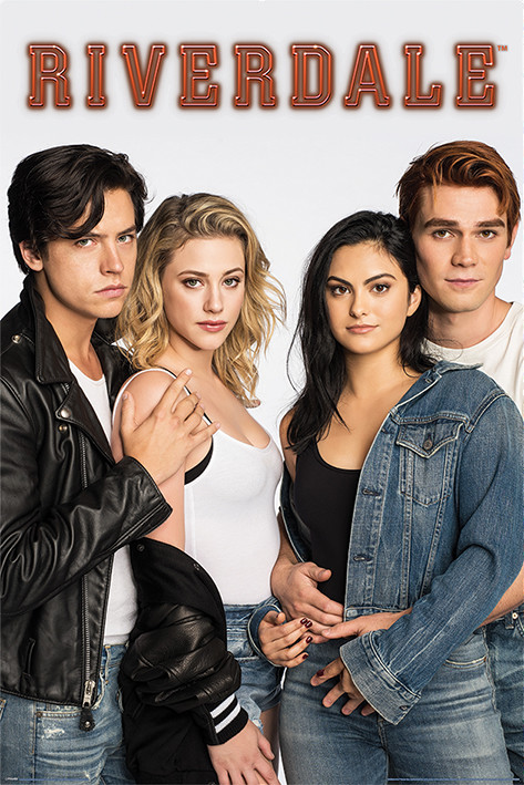 Poster Riverdale - Bughead and Varchie