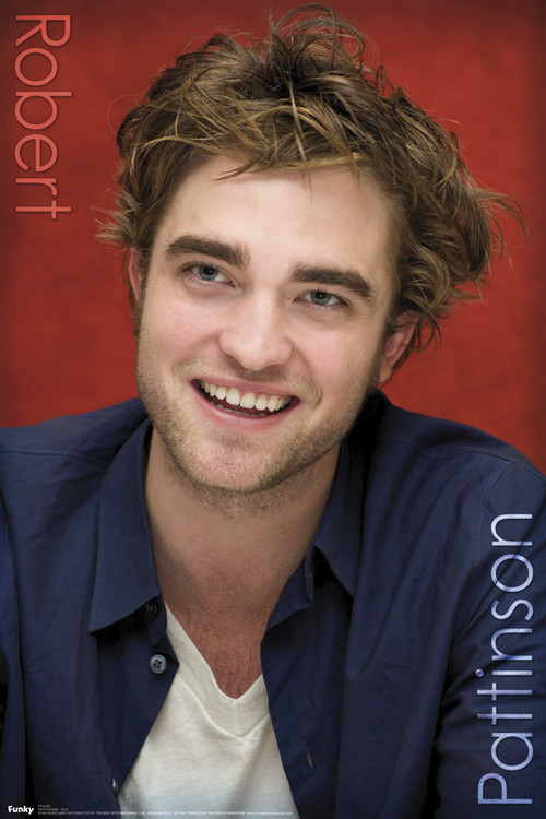Poster ROBERT PATTINSON - red