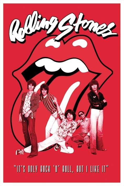 Rolling Stones - it s only Rock n roll poster p  229  EuroPosters seRolling Stones Its Only Rock And Roll