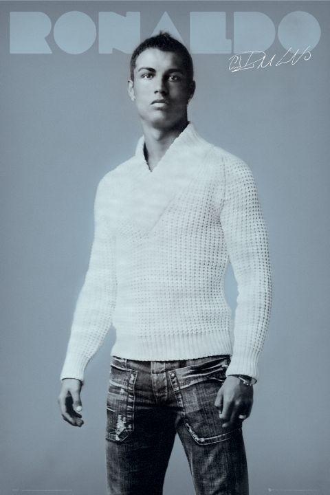 Poster Ronaldo - jumper