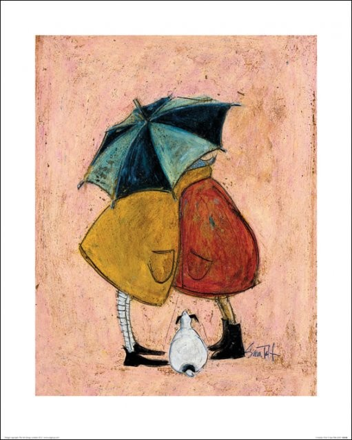 Konsttryck Sam Toft - A Sneaky One