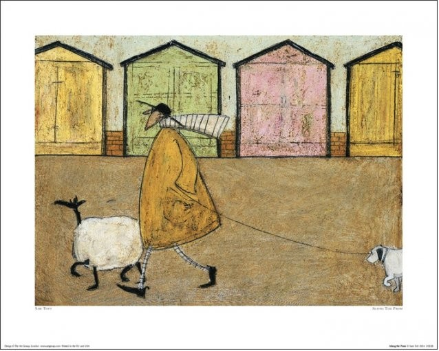 Sam Toft - Along The Prom Kunstdruck