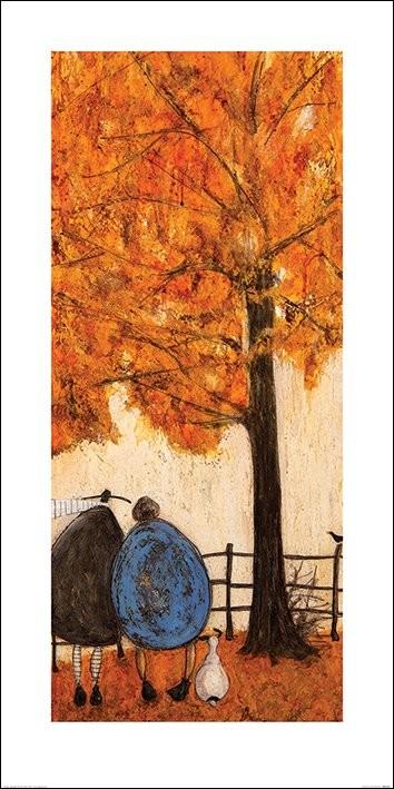 Konsttryck Sam Toft - Autumn