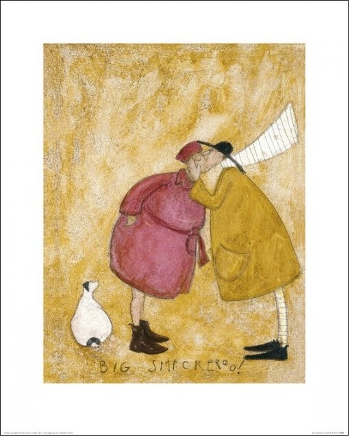 Sam Toft - Big Smackeroo! Kunstdruck