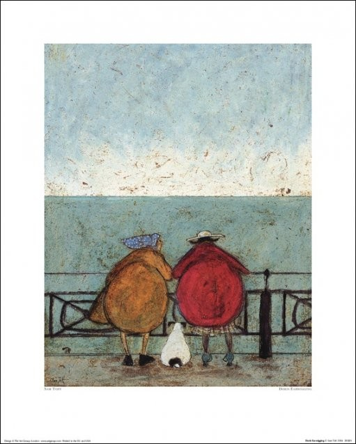 Sam Toft - Doris Earwigging Kunstdruck