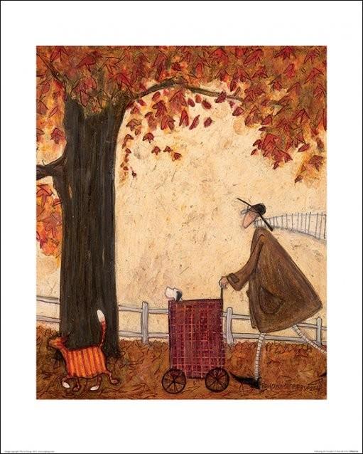 Konsttryck Sam Toft - Following the Pumpkin