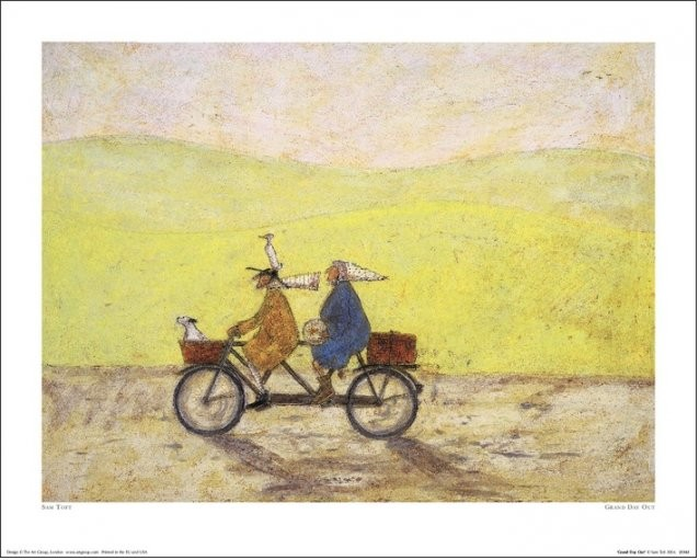Sam Toft - Grand Day Out Kunstdruck