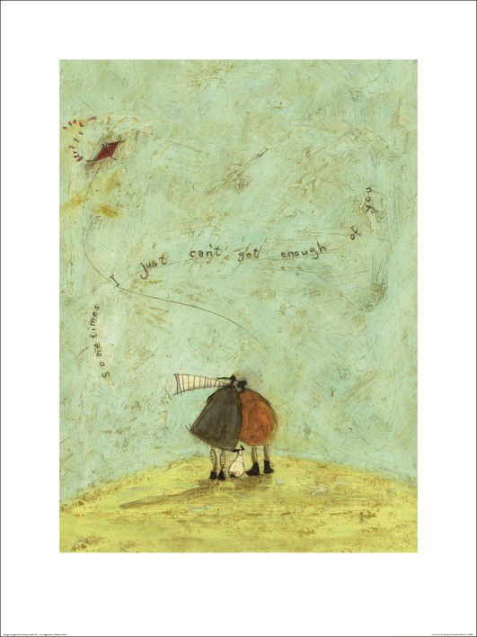 Konsttryck Sam Toft - I Just Can't Get Enough of You