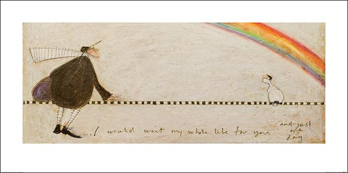 Konsttryck Sam Toft - I Would Wait My Whole Life For You