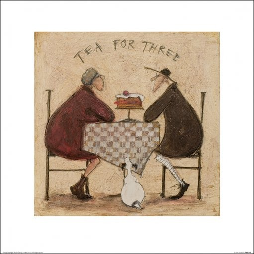 Sam Toft - Tea for Three 5 Kunstdruck