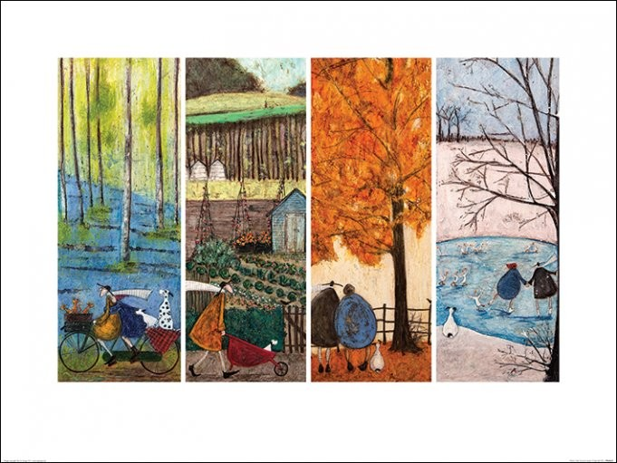 Konsttryck Sam Toft - Which is Your Favourite Season?