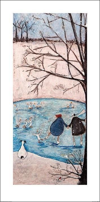 Konsttryck Sam Toft - Winter