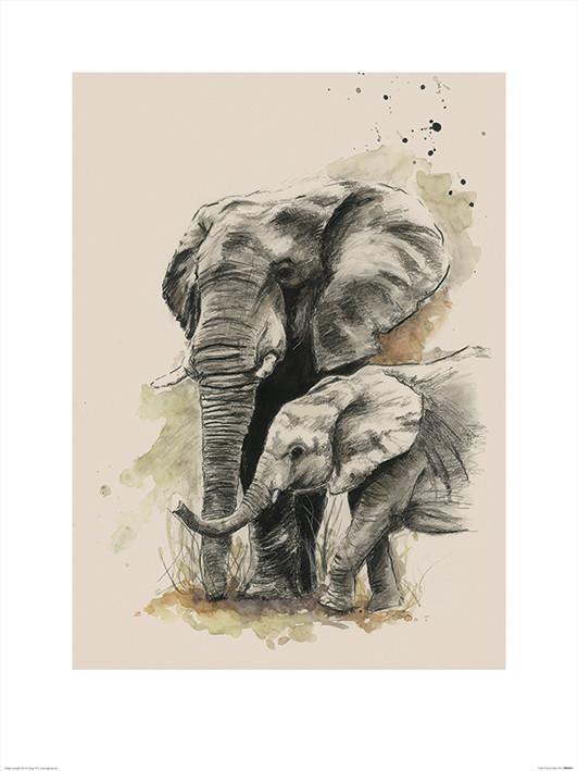 Sarah Stokes - Proud Kunstdruck