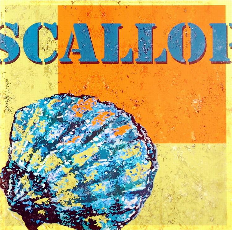 Scallop Kunstdruck