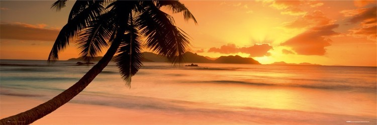 Poster Seychelle island