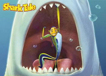 SHARK TALE  -  mouth Poster
