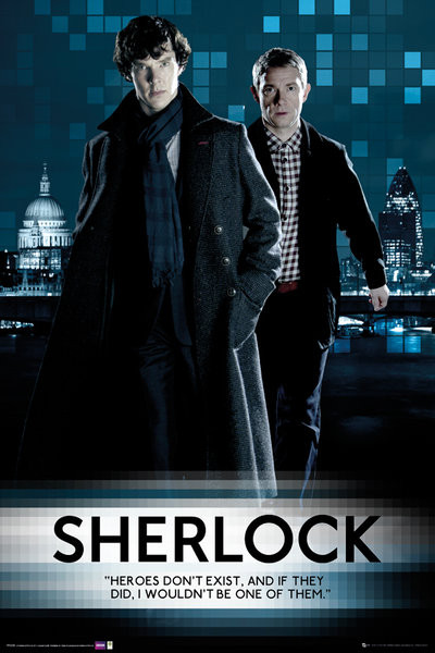 Poster SHERLOCK - Walking