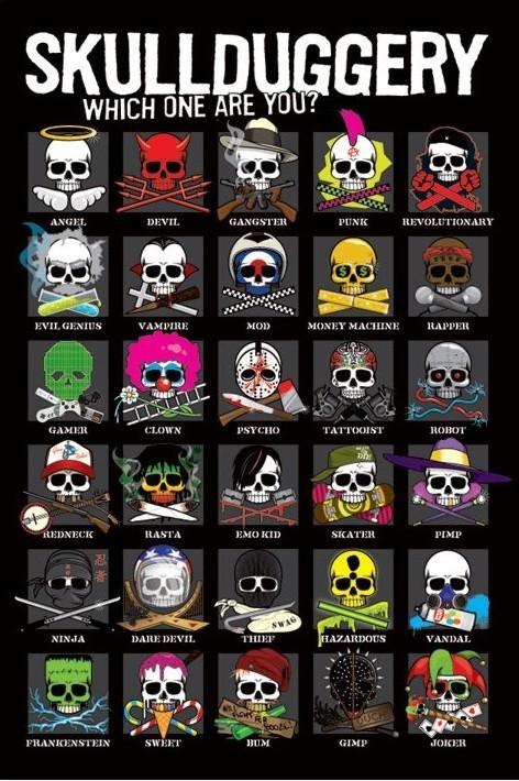 Poster Skullduggery