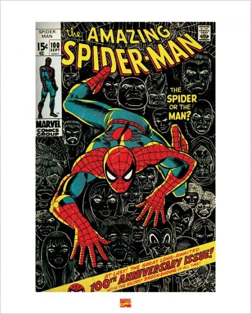 Spider-Man Kunstdruck
