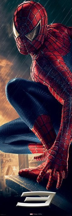 Poster SPIDERMAN 3 - ledge