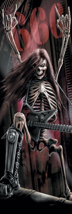 Poster Spiral - metalhead