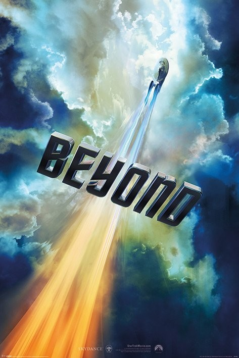 Poster Star Trek Beyond - Clouds