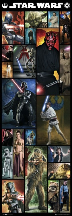 Poster STAR WARS - compilation