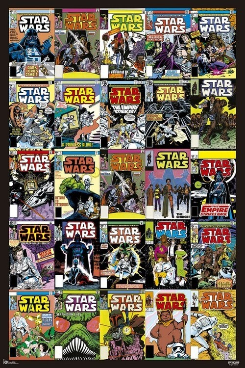 Póster Star Wars - Covers
