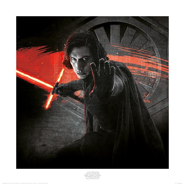 Kunstdruck Star Wars: Die letzten Jedi - Kylo Ren Force bei EuroPosters