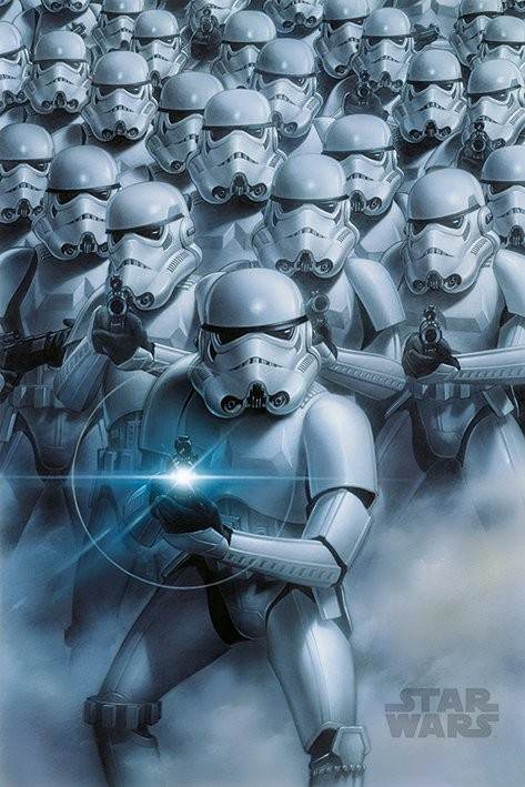 Poster Star Wars - Stormtroopers