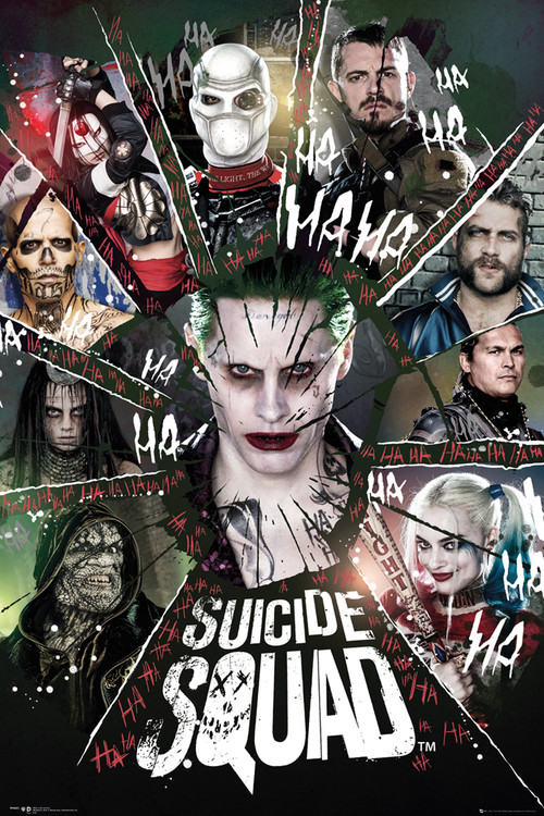 Poster Suicide Squad - Circle