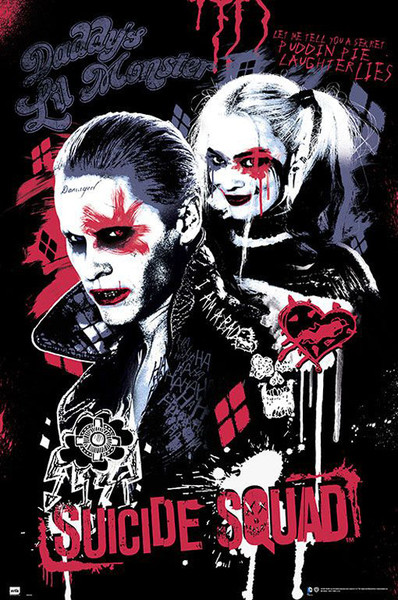 Poster Suicide Squad - Joker and Harley Quinn