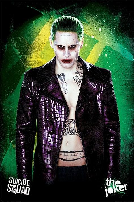 Suicide Squad - The Joker Poster, Kunstdruck bei MonkeyPosters.de