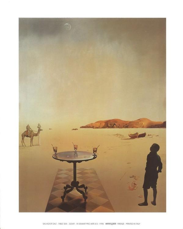 Konsttryck Sun table, 1936