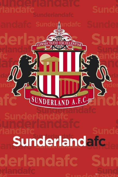 Poster Sunderland - Crest