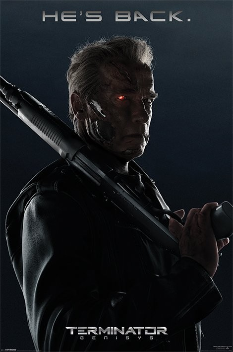 Poster Terminator Genisys - He's Back