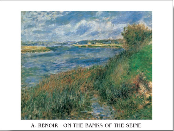 Poster The Banks of the Seine at Champrosay, 1876