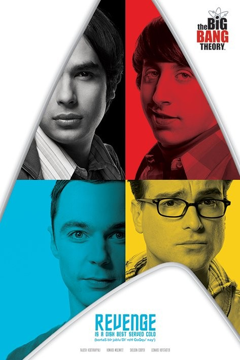 Poster The Big Bang Theory - Revenge