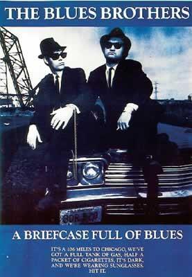 Poster & Affisch The Blues Brothers på EuroPosters se