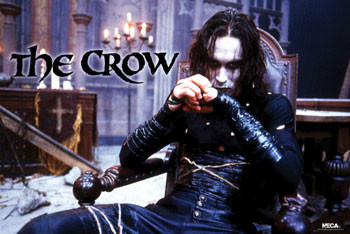 THE CROW - chair Poster