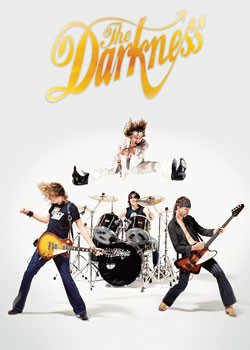 Poster the Darkness - jumping